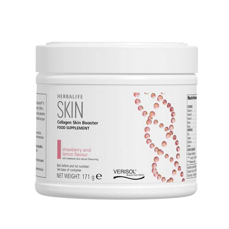 Collagen Skin Booster Food Supplement Strawberry and Lemon