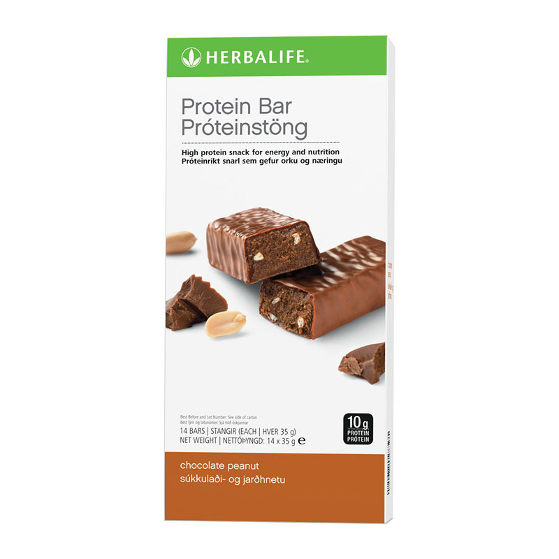 Herbalife Protein Bars Chocolate Peanut