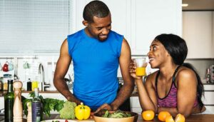Five Tips for Fitness Couples Healthy Diet