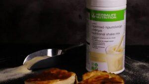 Herbalife classic milk pie